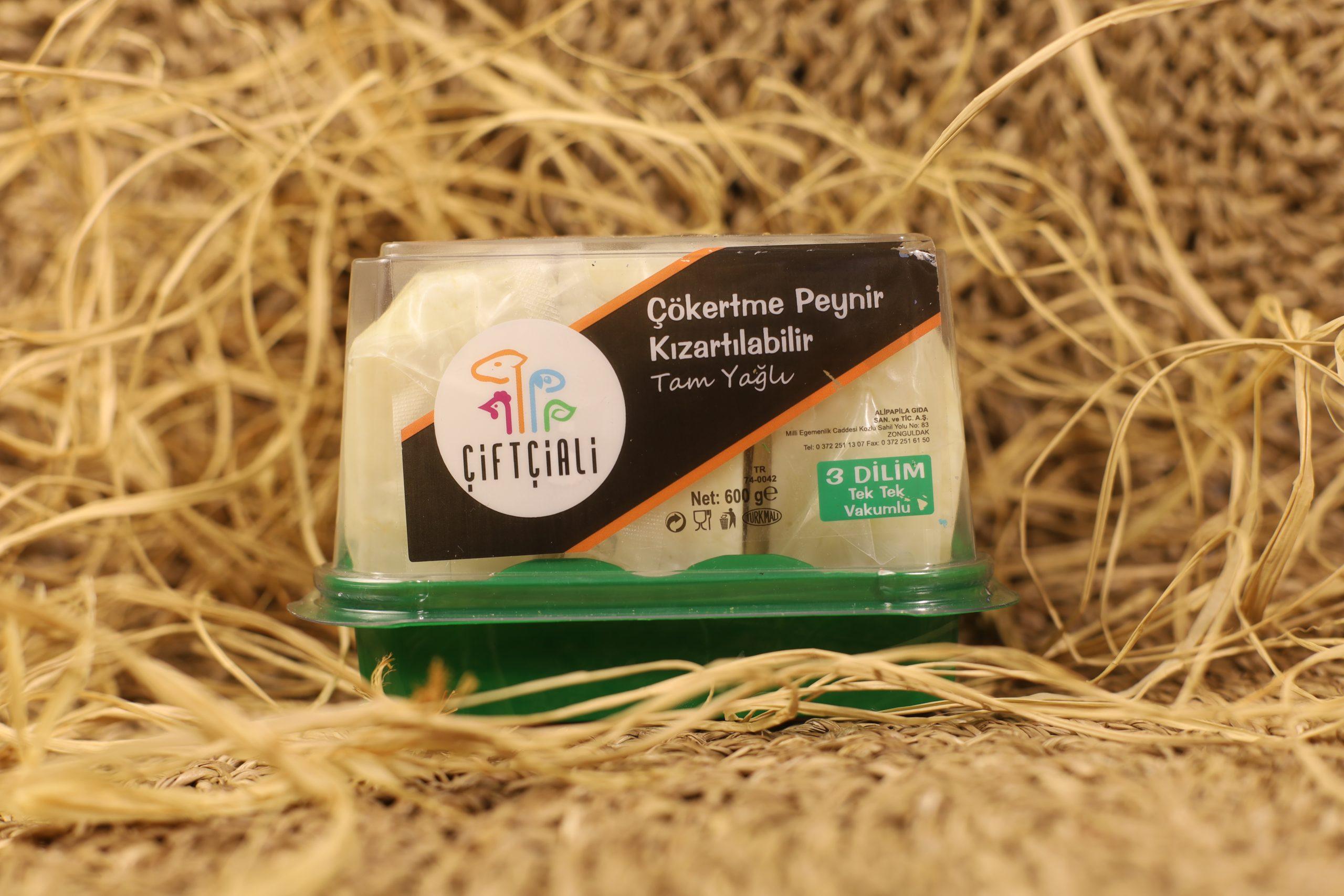 Çökertme Peyniri 3lü Dilim Vakum 600 gr